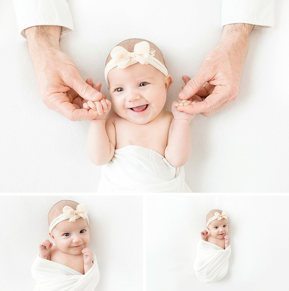 Two Month Newborn Girl I Dallas Newborn Photography